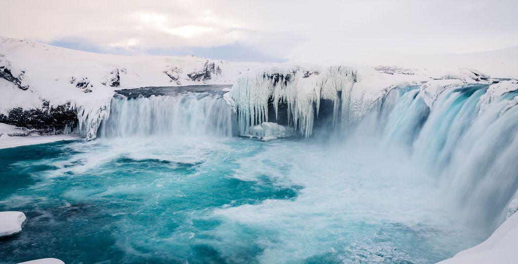 Sie beginnen auf der magischen Insel Island