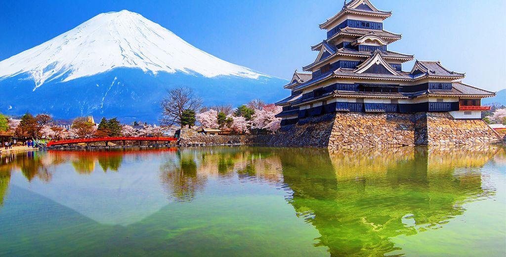 Buchen Sie Ihre Reise nach Japan und entdecken Sie das Land der aufgehenden Sonne