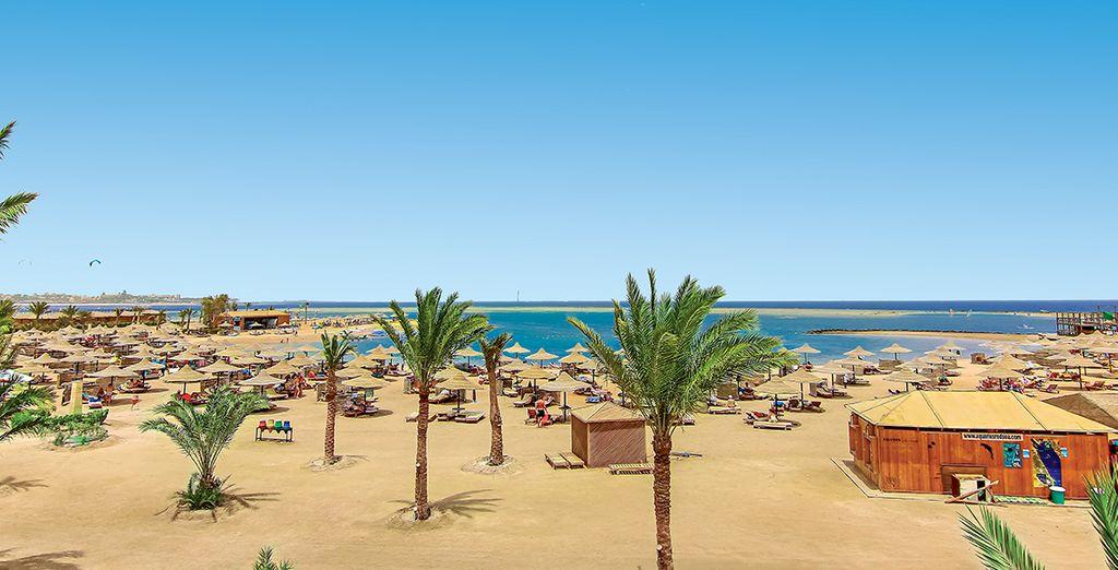 Buchen Sie das luxuriöse Labranda Club Makadi Hotel und genießen Sie den privaten Strand - Ägypten
