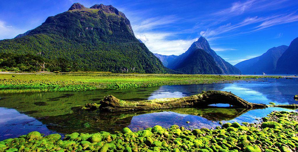 Entdecken Sie atemberaubende Landschaften in Neuseeland auf langen Spaziergängen