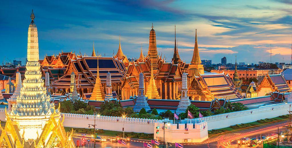 Entdecken Sie Bangkok, die Hauptstadt Thailands.