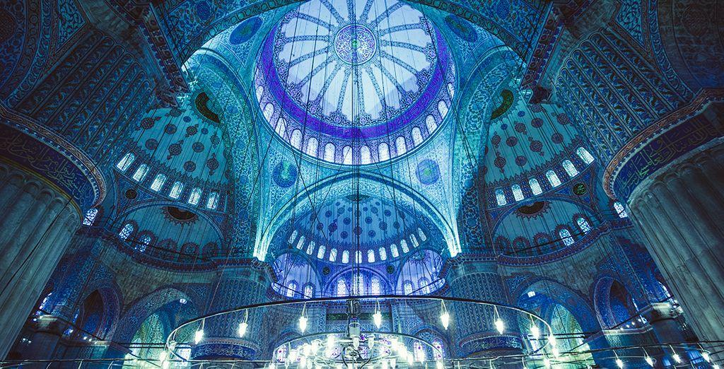 Die blaue Moschee von Istanbul
