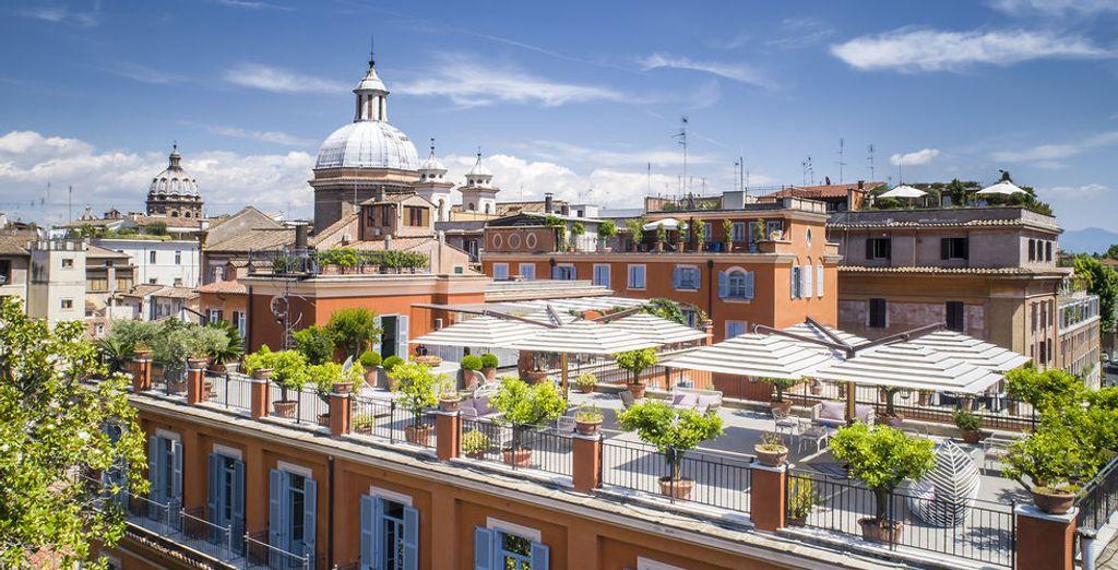 Welches Hotel soll in Rom in unserem Reiseführer gebucht werden