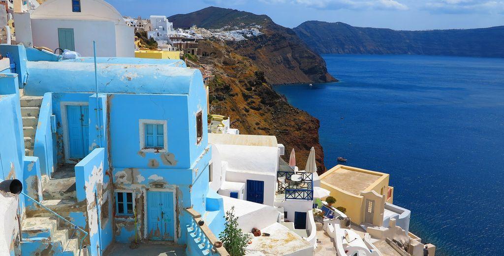 Urlaub auf Santorini und Kamari