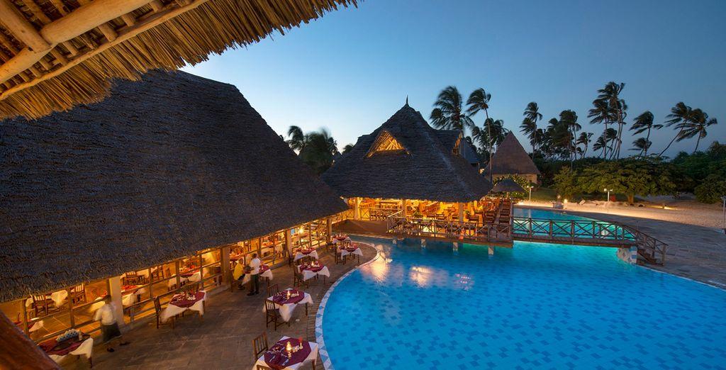 Neptune Pwani Beach Resort & Spa 5* mit Voyage Privé