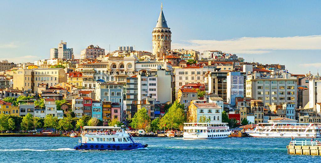 Urlaub unter der türkischen Sonne in Istanbul