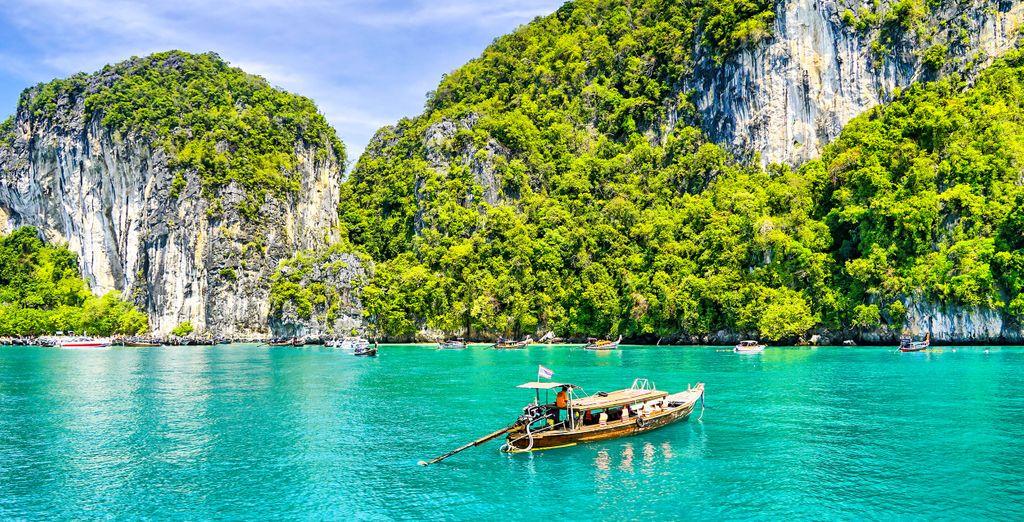 Die außergewöhnlichen Landschaften Thailands