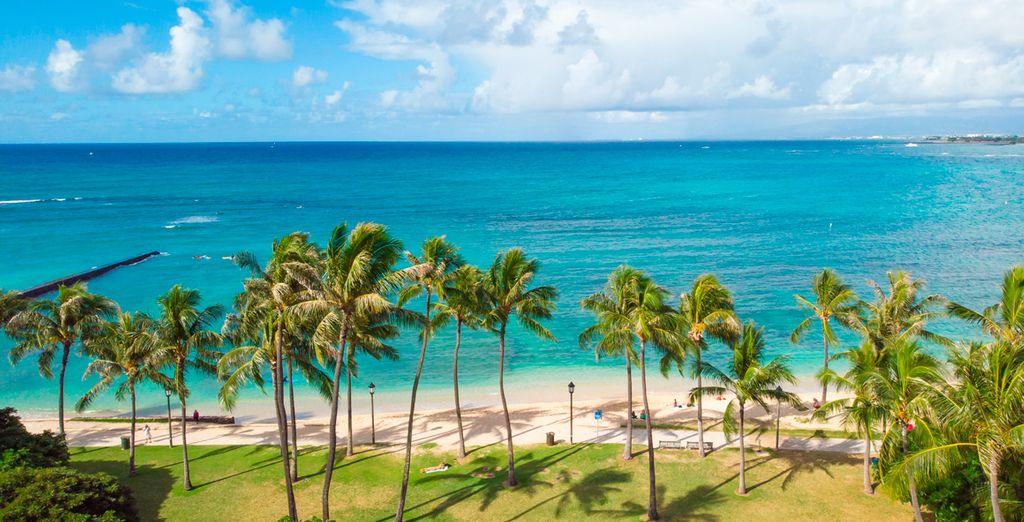 Hawaii's weiße Sandstrände