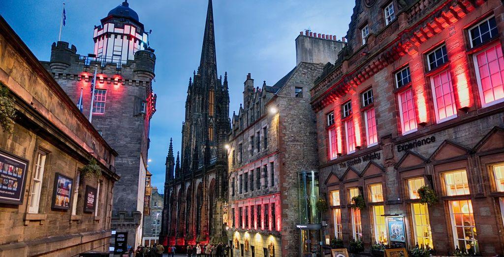 Tour durch Edinburgh in 4 Tagen mit Voyage Privé