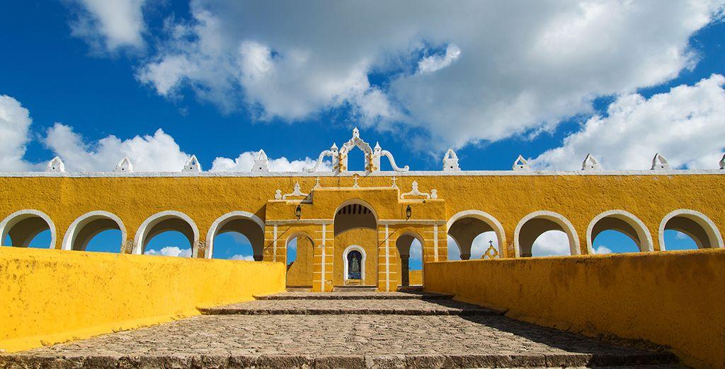 Entscheiden Sie sich optional für eine Yucatan Rundreise