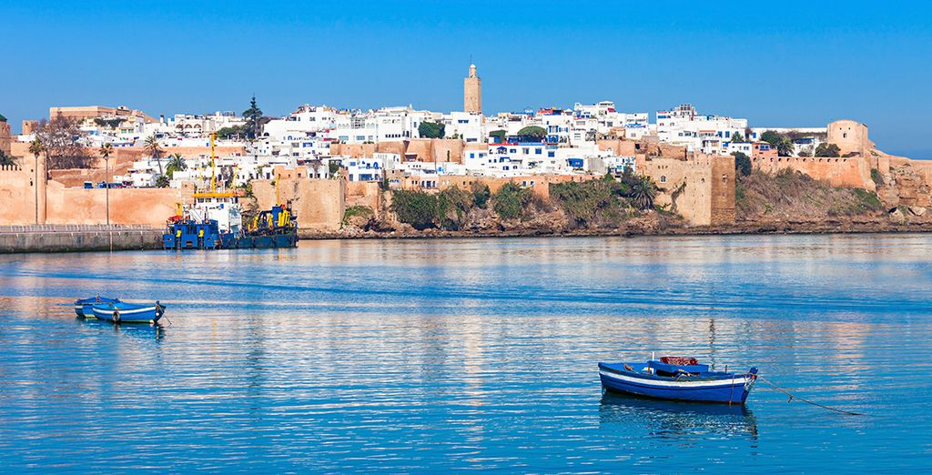Entdecken Sie Rabat während Ihrer Reise nach Marokko.
