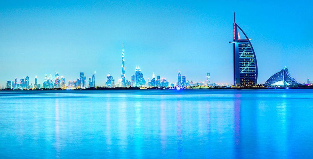 Sie können sich optional für einen Zwischenstopp in Dubai entscheiden