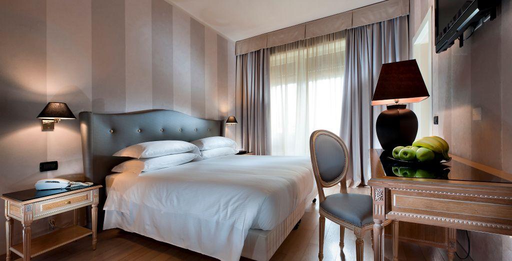 Ein elegantes und gemütliches Comfy Zimmer wartet auf Sie