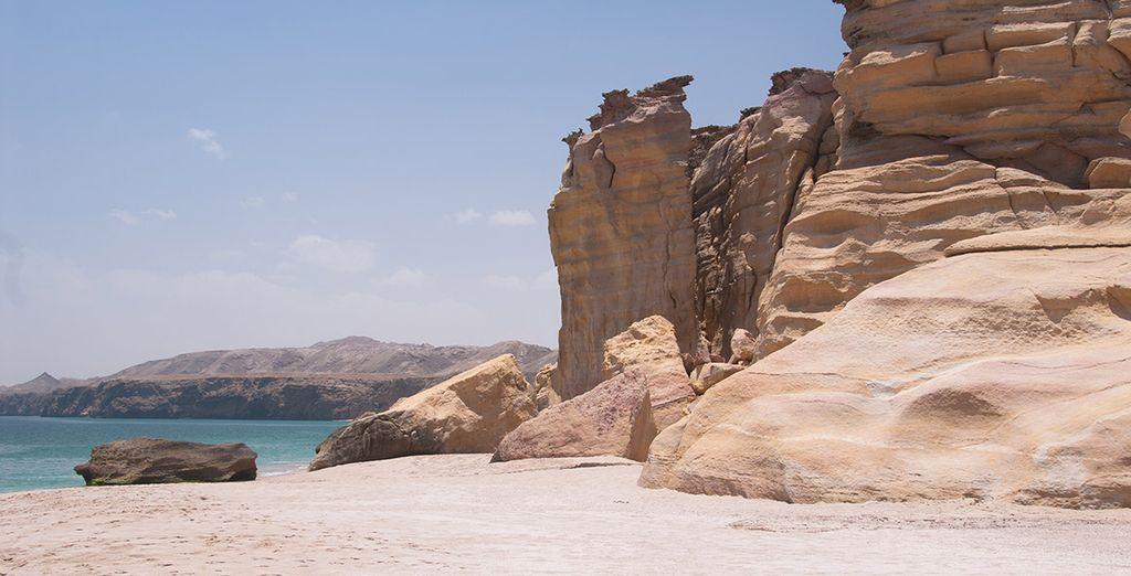 Entdecken Sie die Naturlandschaften während Ihres Urlaubs im Oman