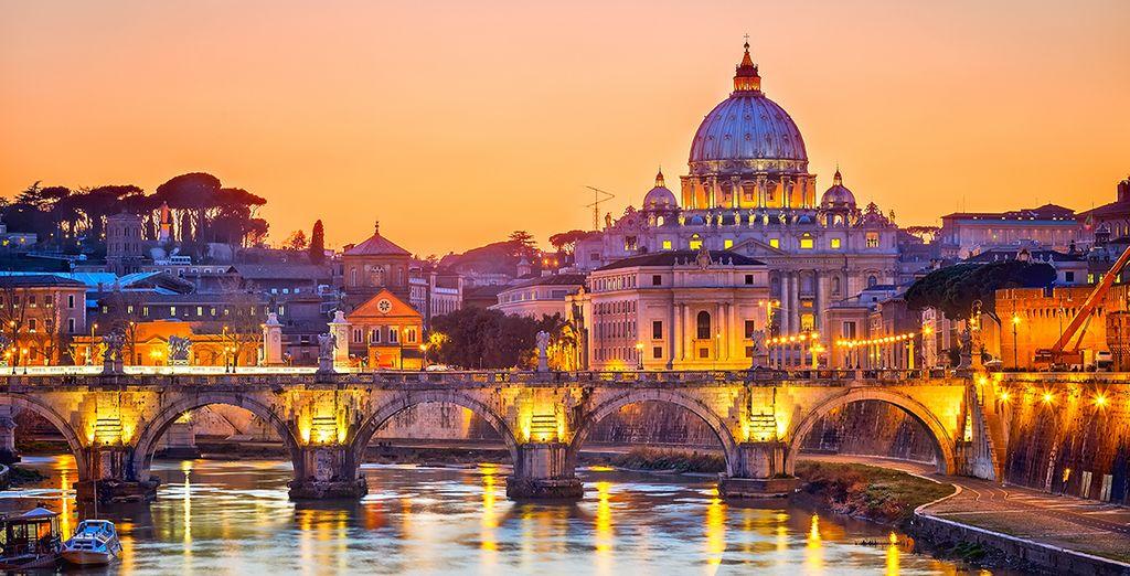 Ihr Hotel ist direkt am Ufer des Tiber gelegen