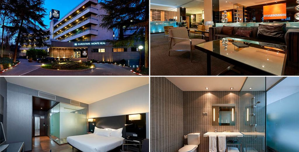 Ihr 4* Eurostars Monte Real Hotel in Madrid