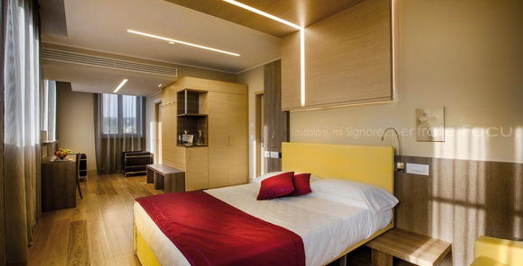 Ein elegantes Zimmer erwartet Sie in der Nähe des Vatikans
