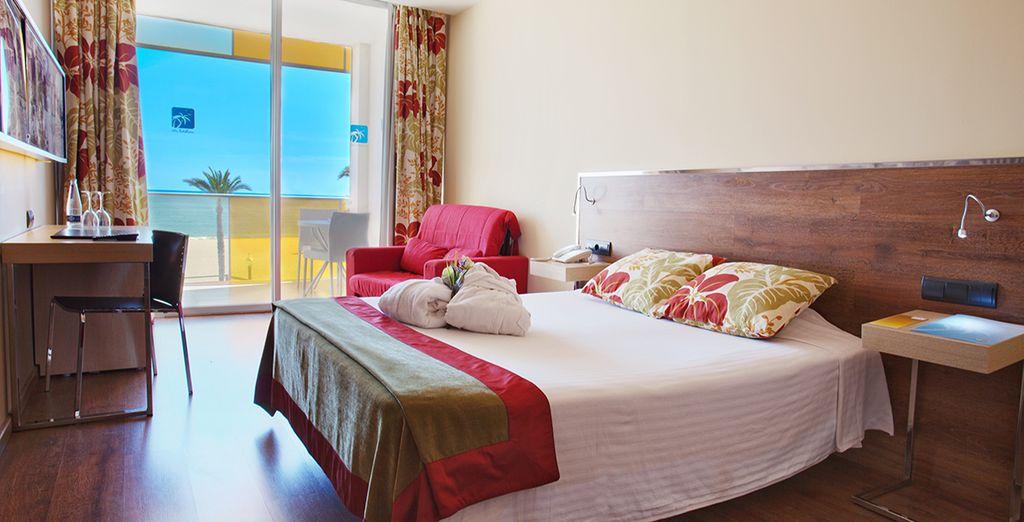 Für einen komfortablen Aufenthalt haben wir für Sie ein Standard Zimmer ausgewählt
