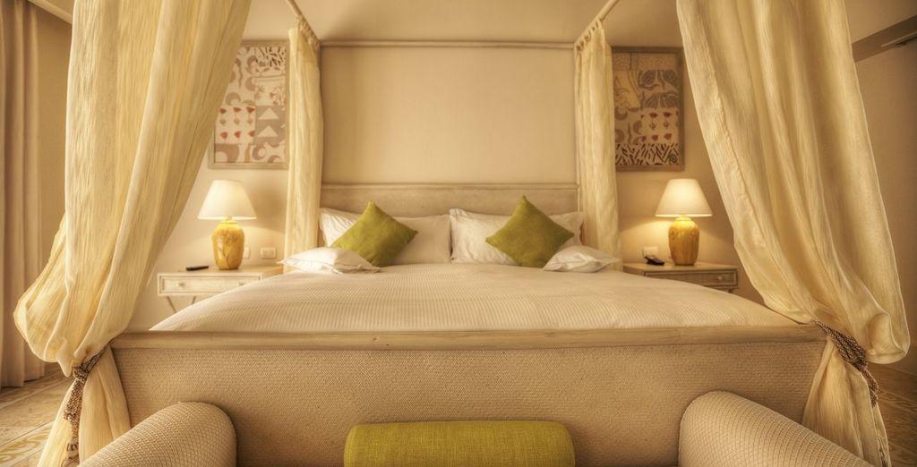 Alójate en una Piscina de lujo Suite de un dormitorio