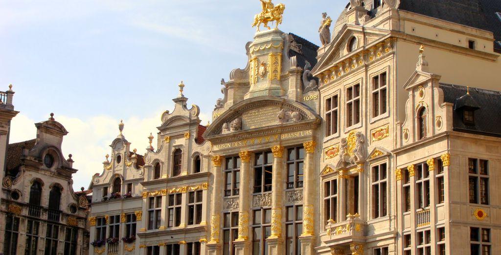 Descubre las magníficas plazas de Bruselas