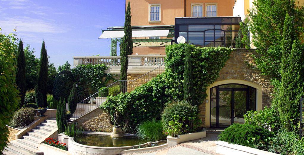 Un hotel de 5* perteneciente a la cadena Relais & Châteaux