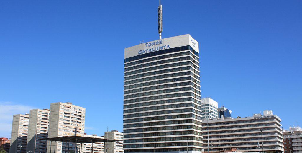 Un hotel de 4* situado en pleno centro de Barcelona