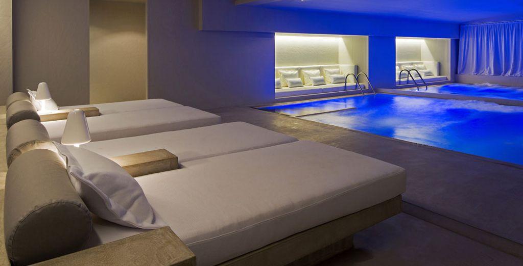 Si te apetece algo de relax, ¡ve al spa!