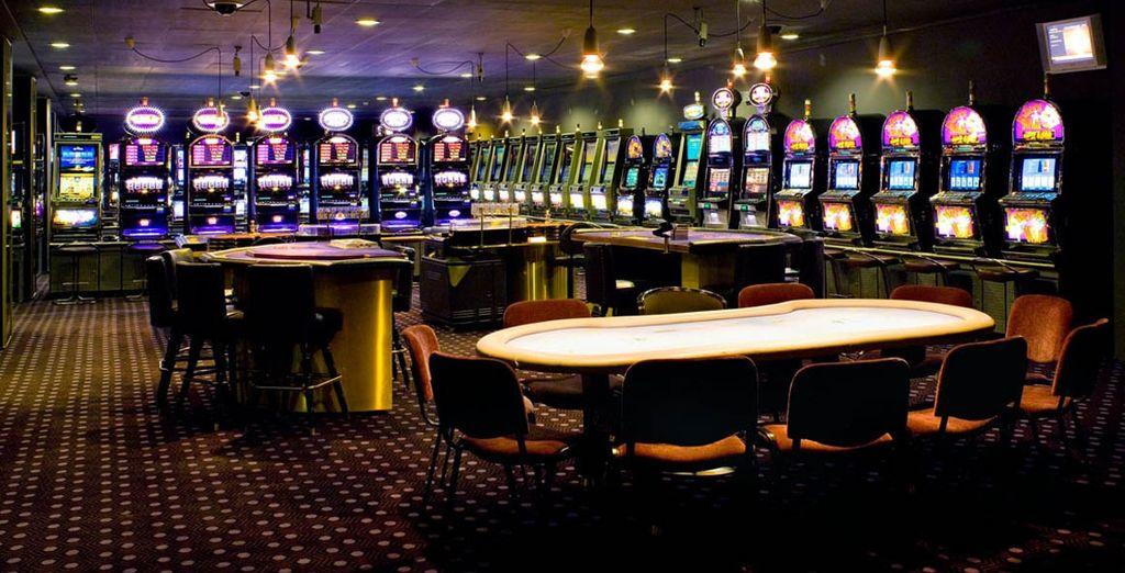 Pase una magnífica velada en el casino