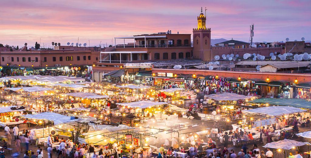 ¡Disfruta tu estancia en Marrakech!