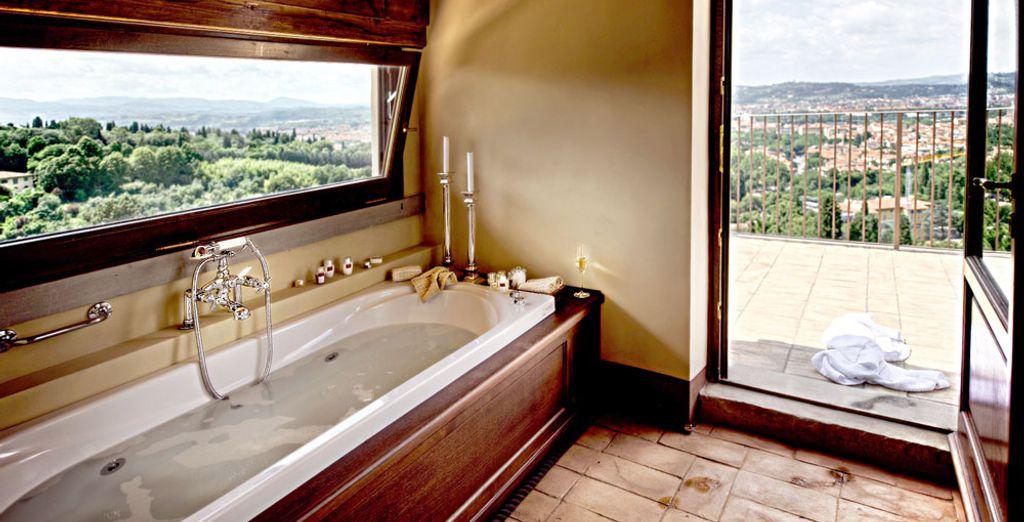 Elige la Suite Ojetti, de 110 m²