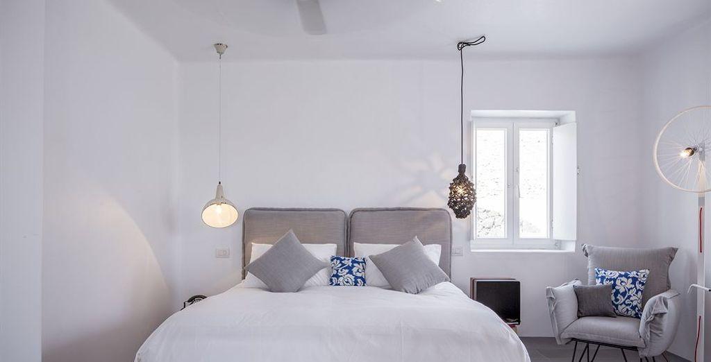 Elige tu refugio particular entre las diferentes suites disponibles