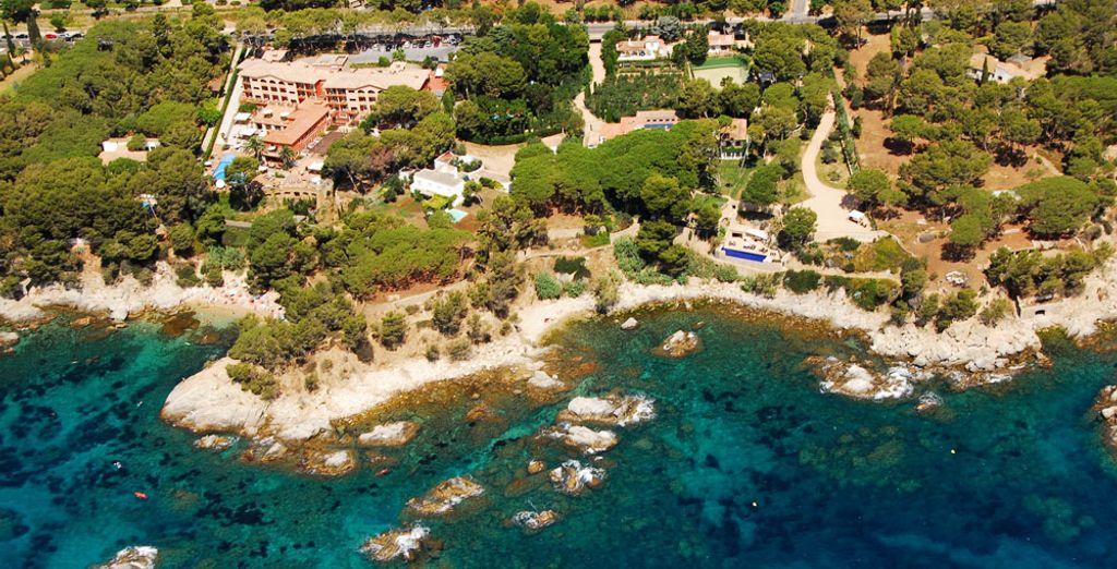 Un imponente establecimiento en al costa mediterránea