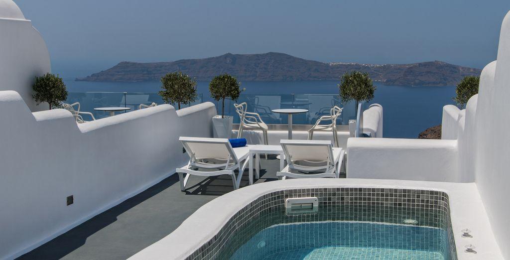 Elige la Grand Luxury Plunge Pool Suite...
