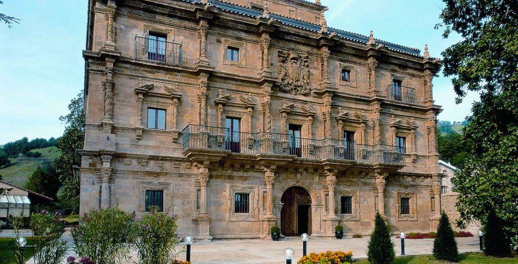 Abba Palacio de Soñanes Hotel 4* - palacio barroco en Santander