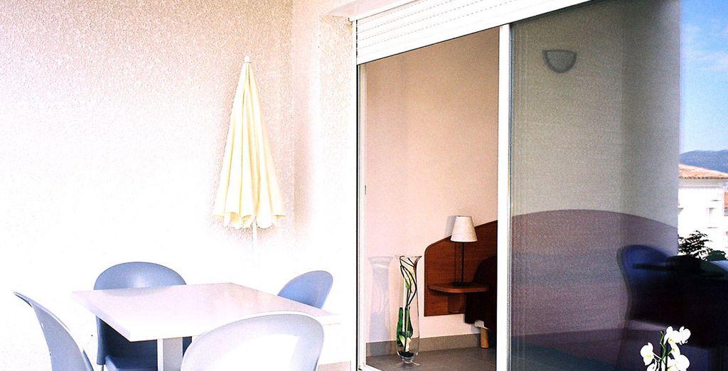 Descase y disfrute de todas las comodidades de alojarse en el Le Bella Vista Residence