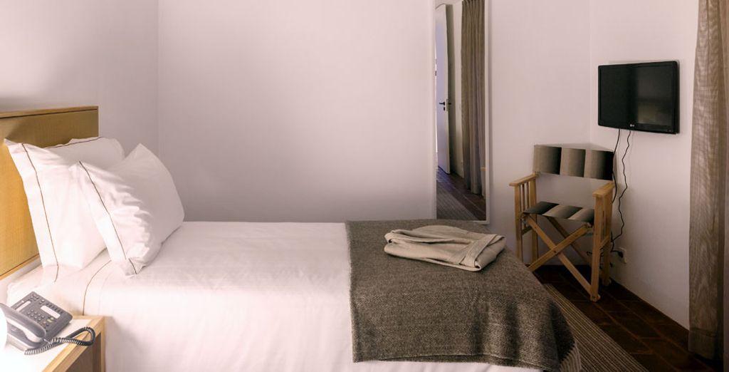 Y disfruta de una estancia tranquila y apacible...