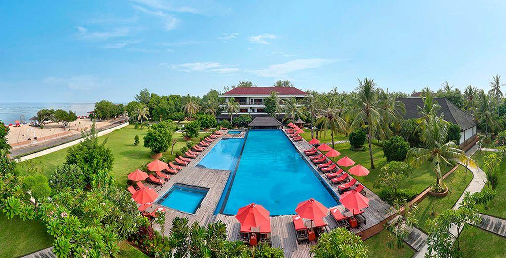 Bienvenido al Hotel Ombak Sunset 4*, en Gili Trawangan