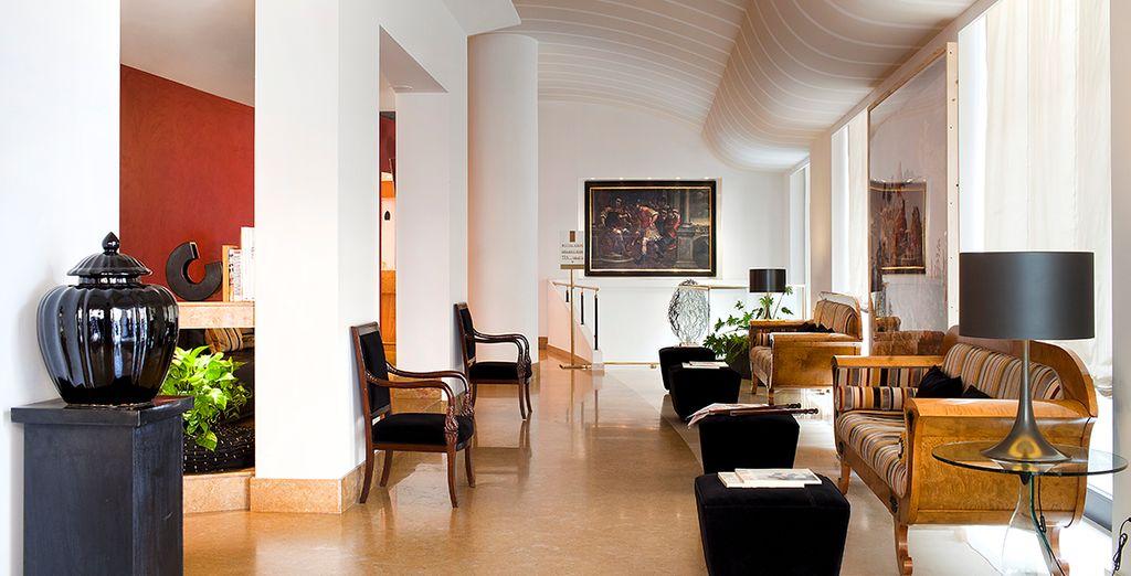 Descubra un hotel acogedor y moderno