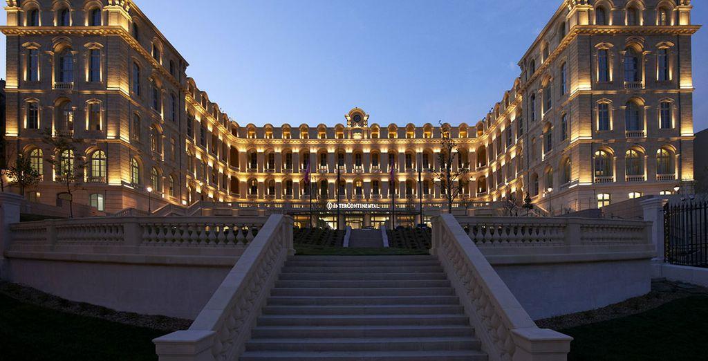 Bienvenido al InterContinental Marseille - Hotel Dieu 5*