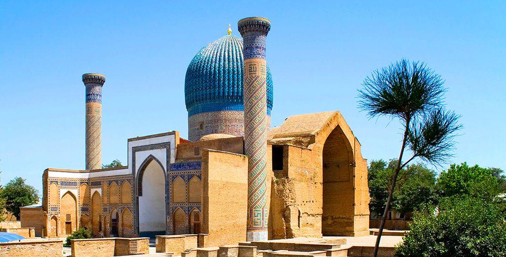 El mausoleo de Gur Emir, uno de los lugares más conocidos de la ciudad