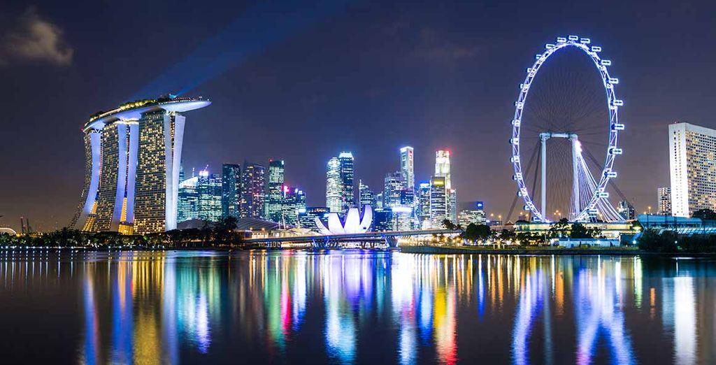 Pase una noche en Singapur
