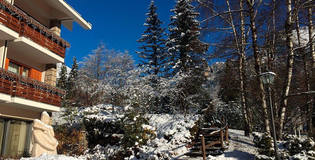 Bienvenido a Grand Hotel Presolana 4*, ¡una estancia en la nieve llena de ventajas!