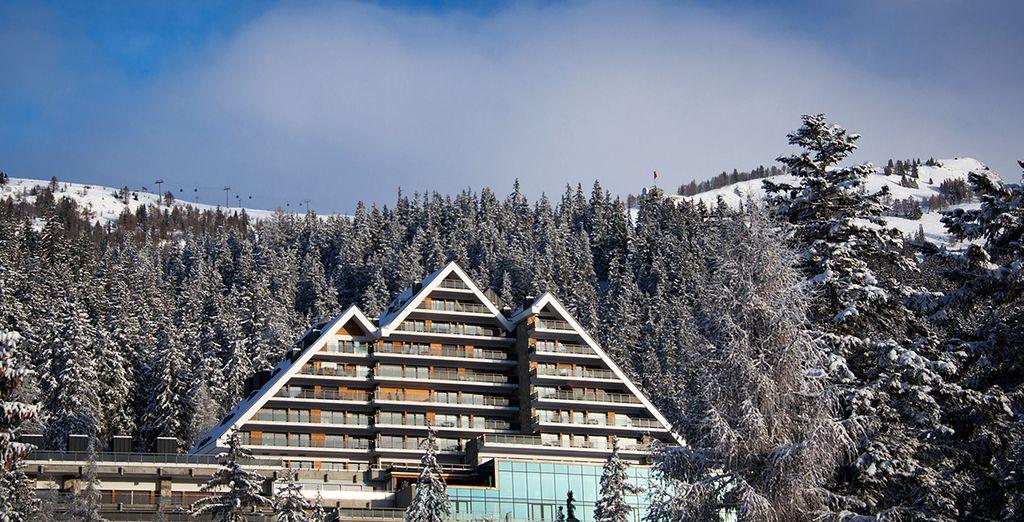 Uno de los mejores hoteles de toda la zona del Valais