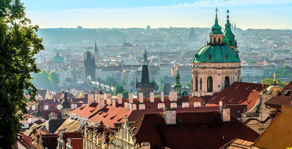 Bienvenido a Praga y sus encantos