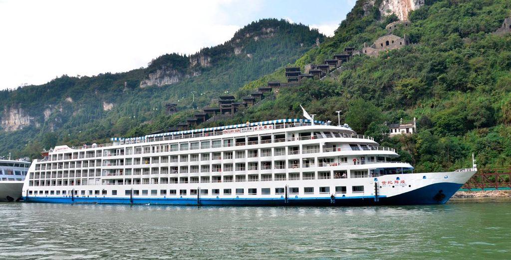 Embárcate en un mágico crucero por el río Yangtzé