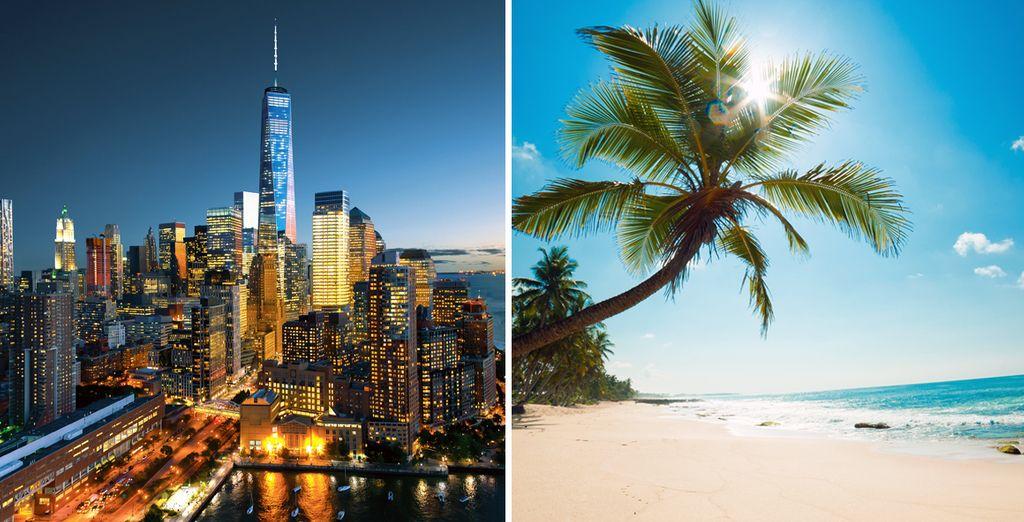 Nueva York y Cancún, el viaje que tanto ha deseado realizar en pareja