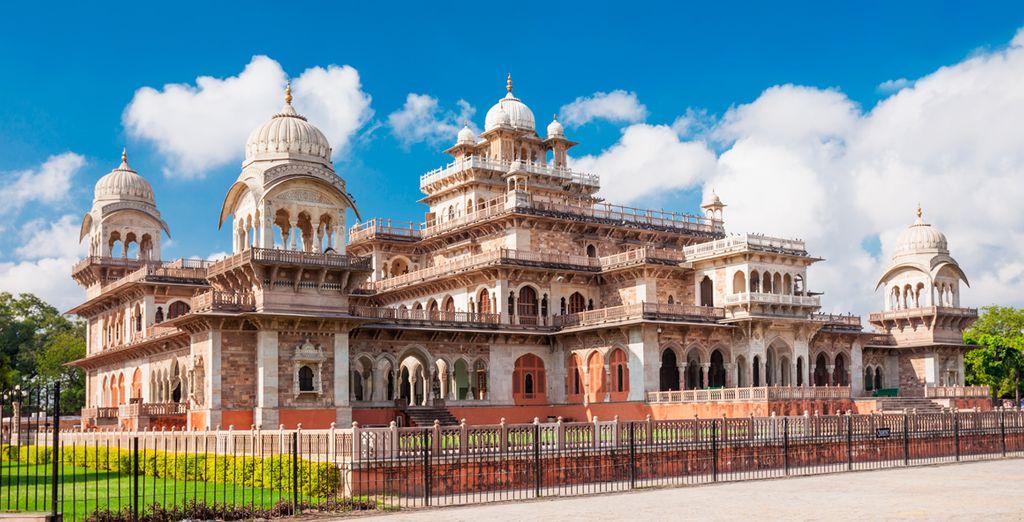 ... y el Albert Hall de Jaipur