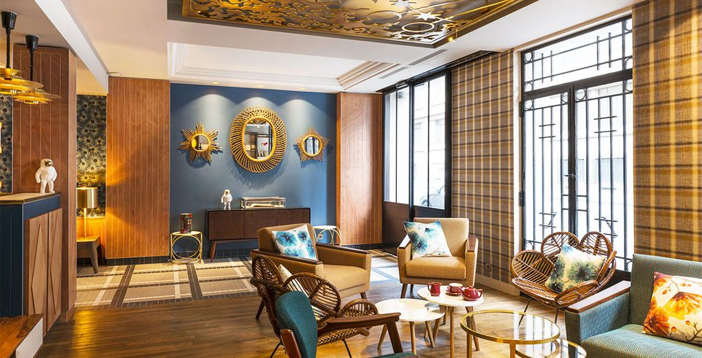 Bienvenido a Hotel Comète Paris, un alojamiento que deleitará todos tus sentidos
