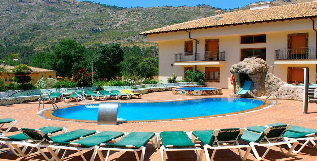 Bienvenido al Hotel Parque Balneario De Cazorla 4*