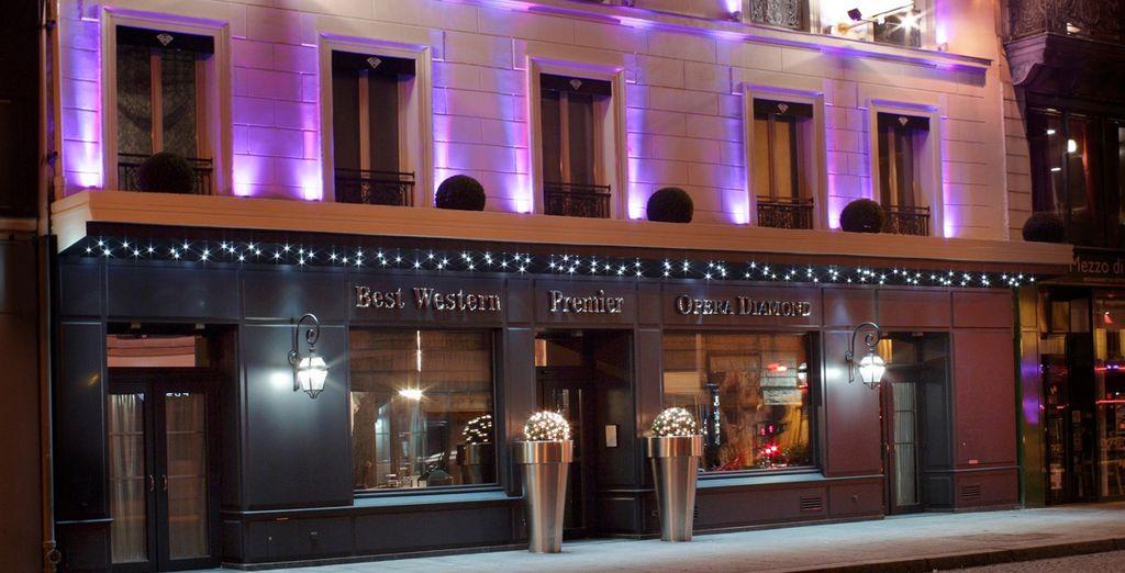 Un hotel de 4 estrellas de lujo situado en el centro neurálgico de la capital